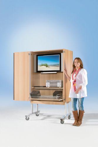 conen tv wagen tv 120 mit rollauszug versandkostenfrei schnell zuverl ssig kaufen bei lutz. Black Bedroom Furniture Sets. Home Design Ideas