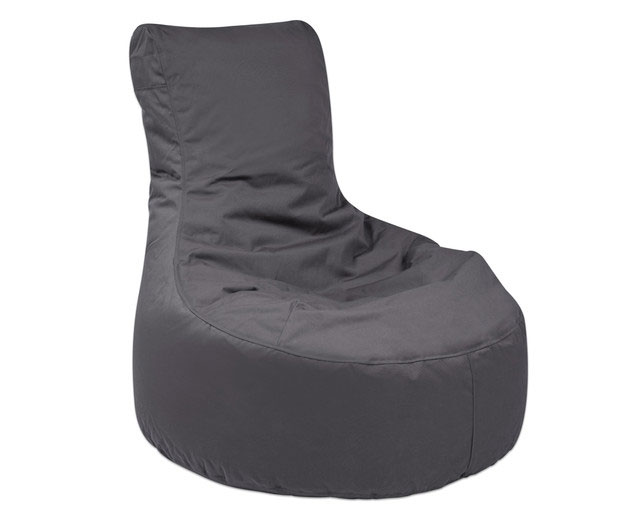 Outdoor Sitzsack Nuro Anthrazit (Zoom)