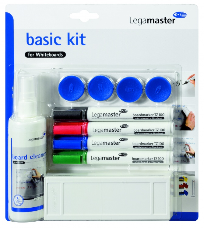 Legamaster Whiteboard Zubehörset BASIC Kit Basis-Set (Zoom)