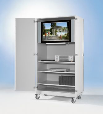 conen mobiler tv schrank f r flachbildschirme versandkostenfrei schnell zuverl ssig kaufen. Black Bedroom Furniture Sets. Home Design Ideas